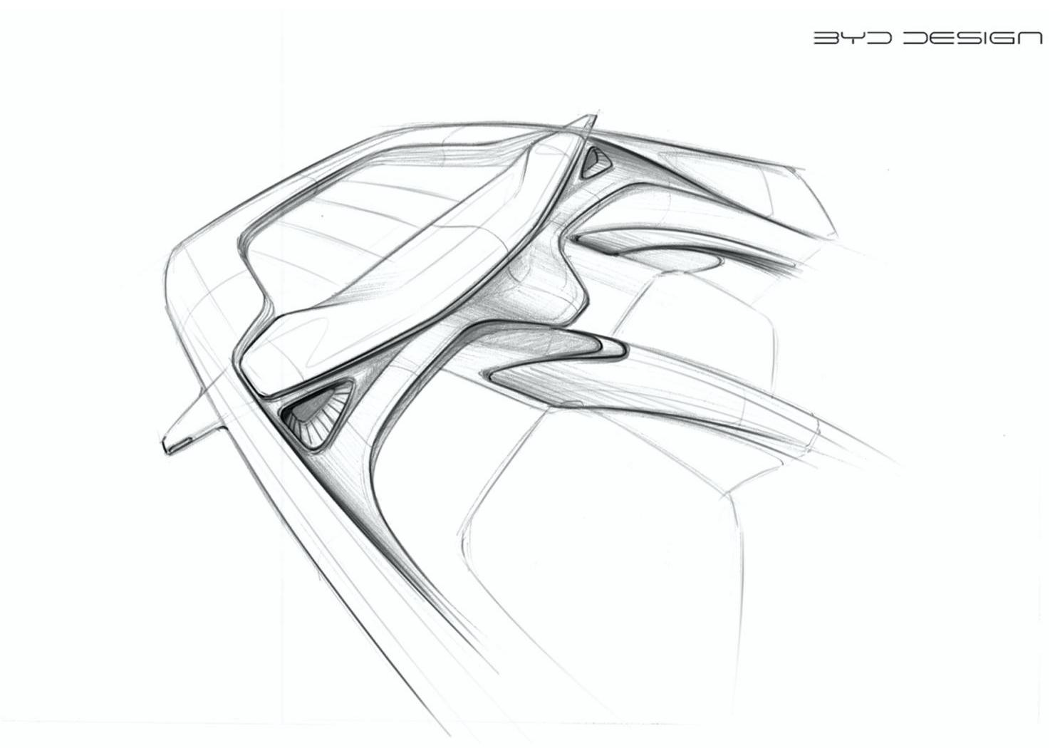 大量曲线营造流动感 海豚内饰设计效果显得简约柔美